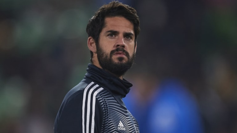 Isco Left Out of Real Madrid Squad for Copa del Rey Semi Final Clásico Against Barcelona