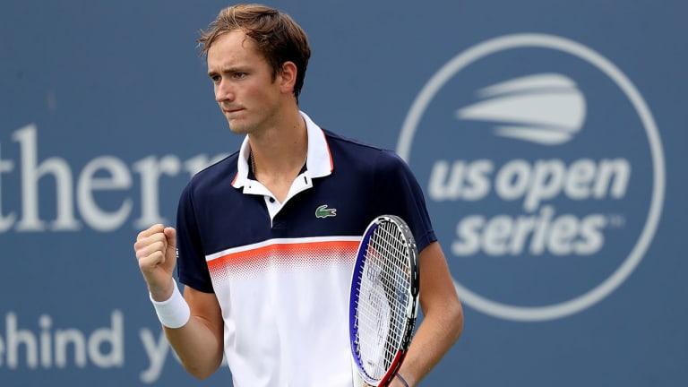 Daniil Medvedev Overcomes Slow Start to Upset Djokovic, Reach Cincinnati Final