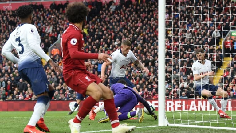 Twitter Reacts as Liverpool Escape Title Blow With Late Own Goal Against Tottenham