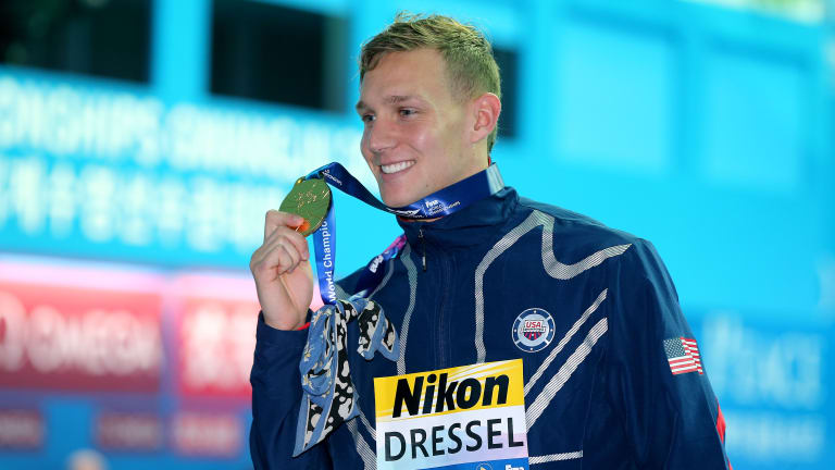 Caeleb Dressel Passes Michael Phelps, Wins Record Eighth Swimming Medal at Worlds