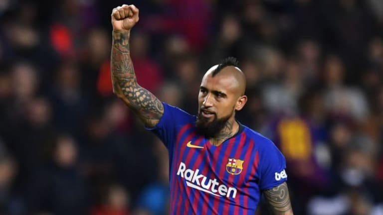 Barcelona Keen to Activate One-Year Contract Extension for Arturo Vidal Amid Links to Inter