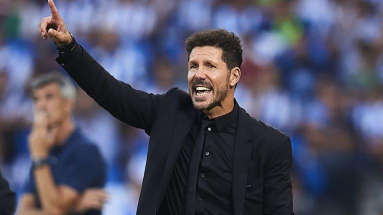 Simeone hizo autocrítica tras la derrota del Atlético de Madrid