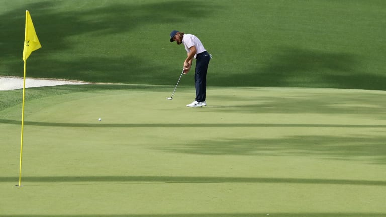 Why Are Golfers Putting With the Flagstick in at the Masters?