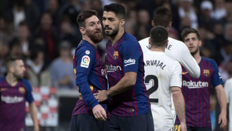 Messi y Suárez tiene ya los mismos goles que el Real Madrid en liga
