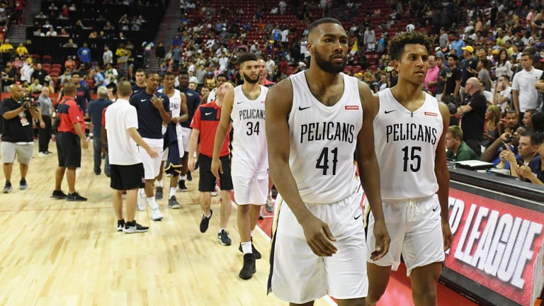 Watch: Earthquake Disrupts Knicks-Pelicans Summer League Game in Las Vegas