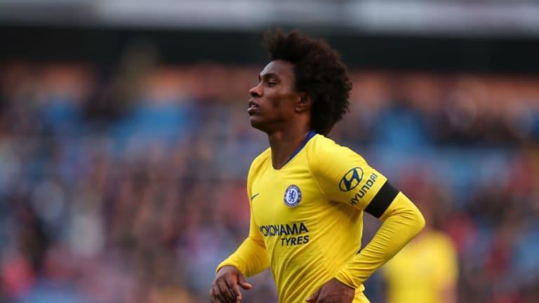 Barcelona Set to Launch Astonishing £50m Plus Malcom Bid for Chelsea Winger Willian