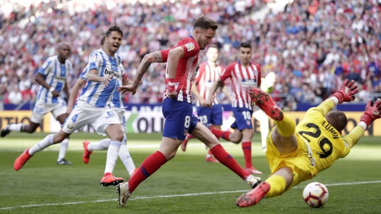 Atletico Madrid 1-0 Leganes: Report, Ratings & Reaction as Saul Strike Earns Rojiblancos Win