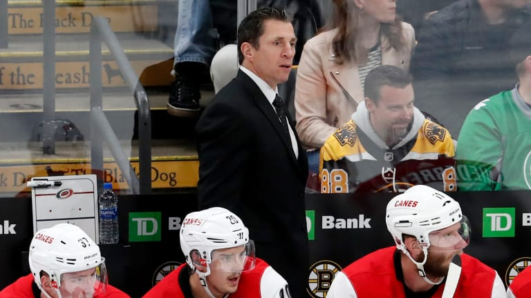 A Season After Hurricanes Took NHL by Storm, Brind'Amour Aims to Stay Relevant