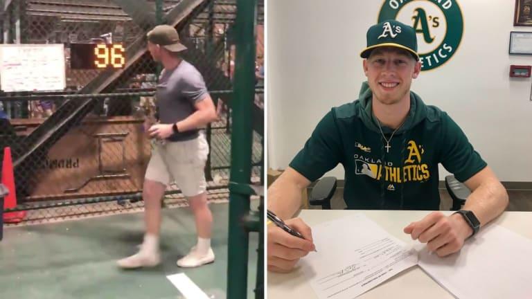 Friday's Hot Clicks: Fan Who Hit 96 on Stadium Radar Gun Signs MLB Contract