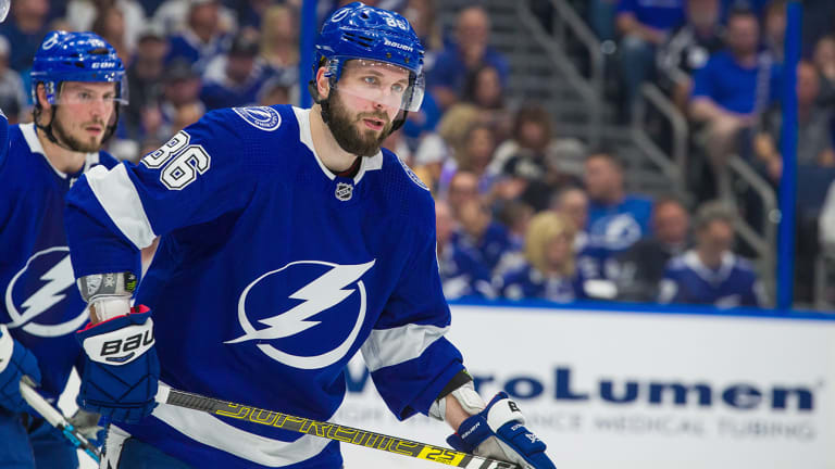 Lightning's Nikita Kucherov Suspended for Game 3 of Playoffs for Boarding