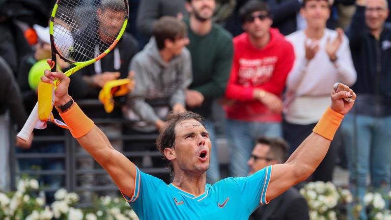 Rafael Nadal Gets His Revenge Over Stefanos Tsitsipas to Reach Rome Final