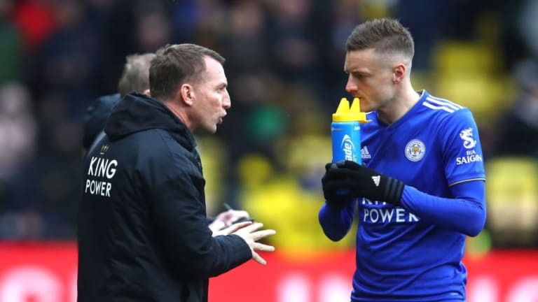Brendan Rodgers Provides Update on Jamie Vardy's Condition Ahead of Leicester's Clash With Fulham