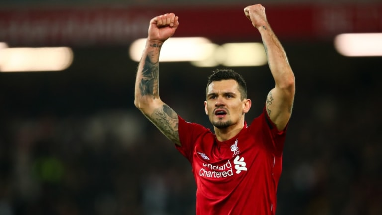 Dejan Lovren Visits Croatian Specialist in Hope of Recovering From Injury in Time to Face Bayern