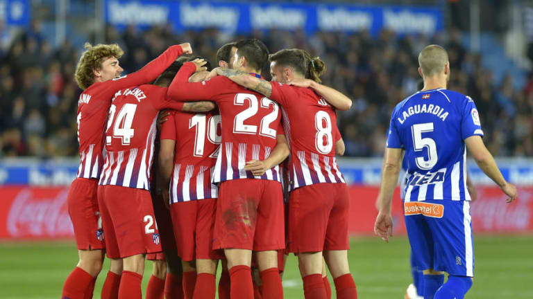 Deportivo Alaves 0-4 Atletico Madrid: Report, Ratings & Reaction as Atleti Storm to Emphatic Win