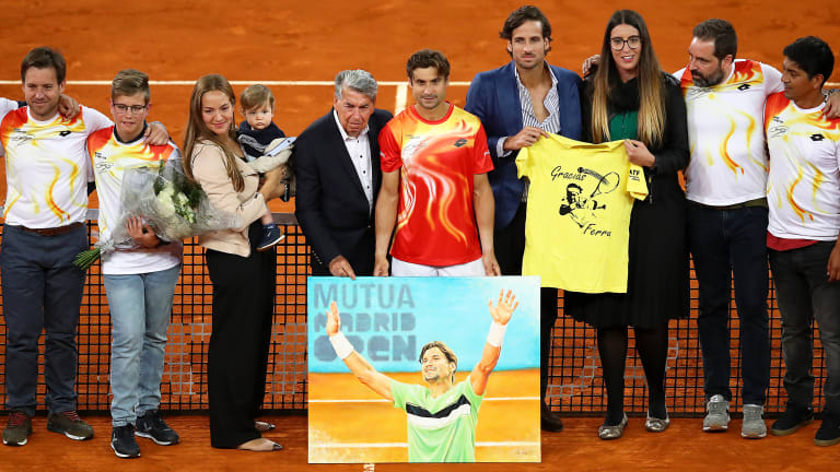 David Ferrer's 20-Year Career Comes to an End With Loss in Madrid
