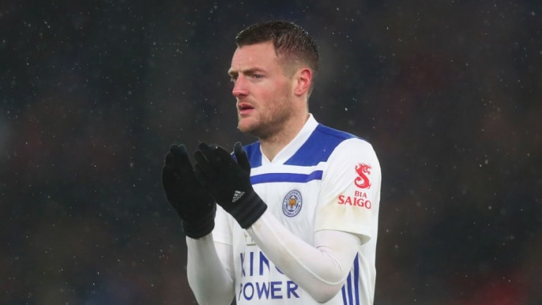 Jamie Vardy Punched a Door After Leicester's Defeat in Claude Puel's Last Game in Charge