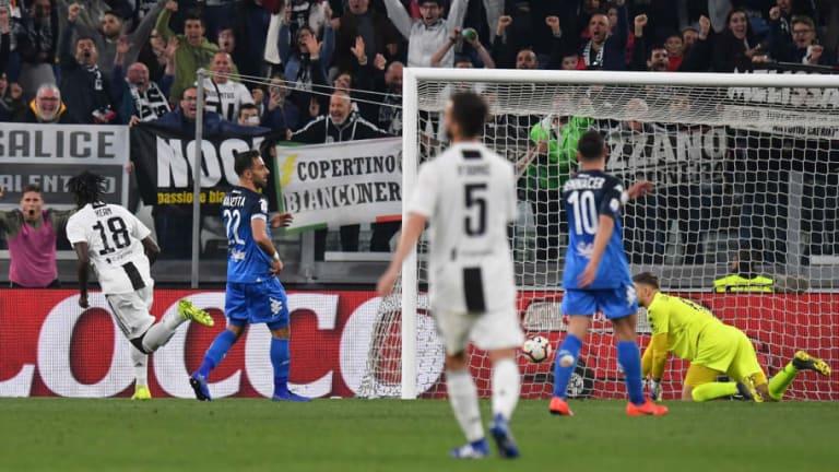 Juventus 1-0 Empoli: Report, Ratings & Reaction as Bianconeri Stumble to Victory
