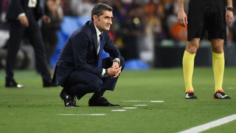 Ernesto Valverde Admits Barcelona 'Lacked a Spark' During Copa del Rey Final Defeat to Valencia