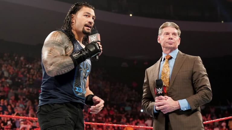 The Week in Wrestling: Roman Reigns Reveals Vince McMahon's Advice After Cancer Diagnosis