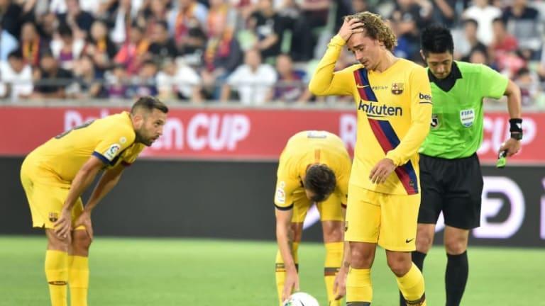 Ernesto Valverde Praises Antoine Griezmann and Frenkie de Jong After Vissel Kobe Victory in Japan