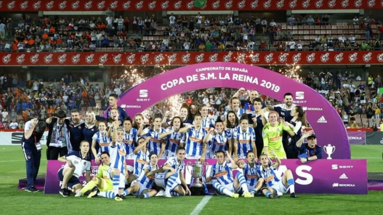 La futbolista mexicana que ganó la Copa de la Reina en España