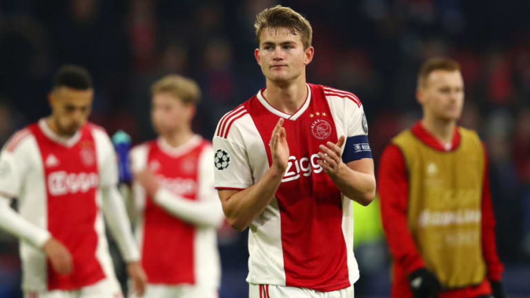 Barcelona Chief 'Knows What Will Happen' With Ajax Defender Matthijs de Ligt This Summer