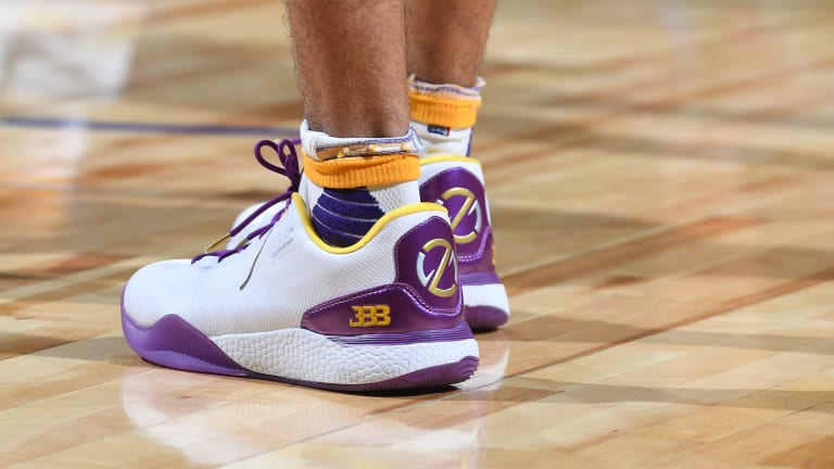 Lonzo Ball Changed His ZO2 Big Baller Brand Shoes After Each Quarter of Summer League