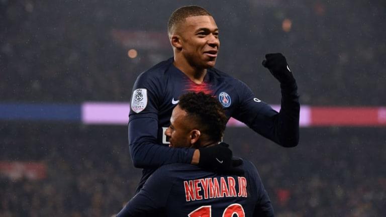 """Neymar: """"Mbappé se ha convertido en uno de los grandes nombres del fútbol"""""""