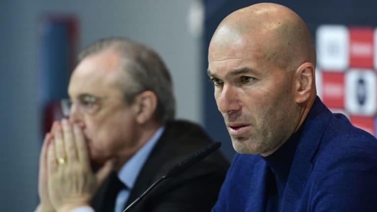 Top Target Zinedine Zidane Doubting Real Madrid Return as Club President Receives Mourinho Blow
