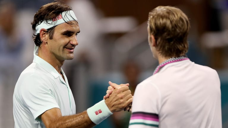 Roger Federer Beats Denis Shapovalov, Sets Up Meeting With John Isner in Miami Open Final