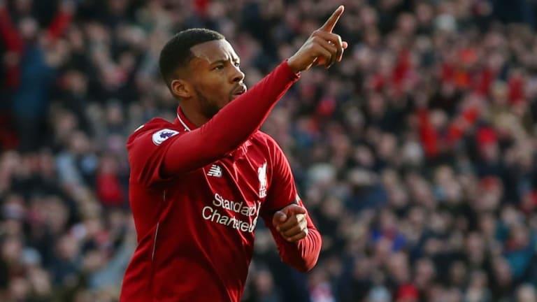 Georginio Wijnaldum Reveals He Is Yet to Start Discussing New Contract With Liverpool