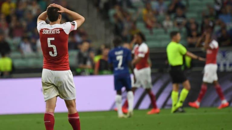 El 1x1 de los futbolistas del Arsenal en la final de la Europa League