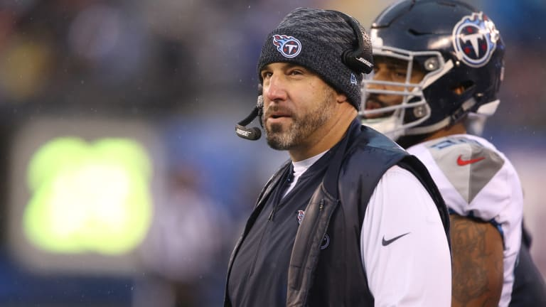 Titans Head Coach Mike Vrabel Would Cut His D--- Off For Super Bowl Win