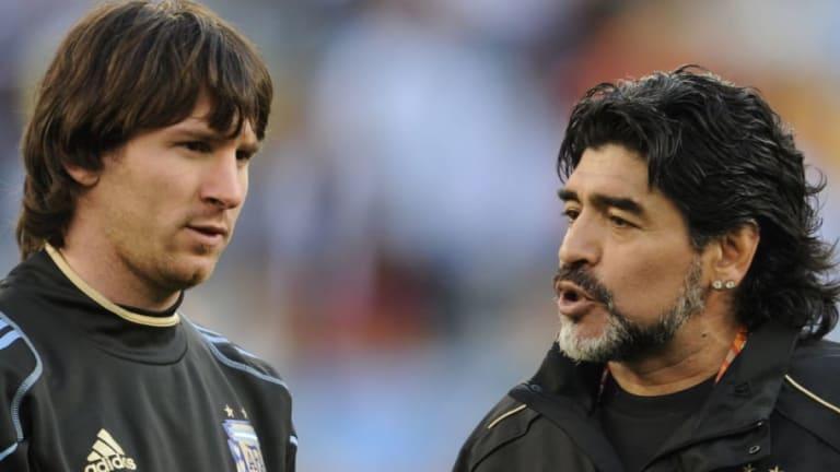 ¿Messi o Maradona? | Ronaldo confesó con cuál de los dos cracks hubiera hecho más goles