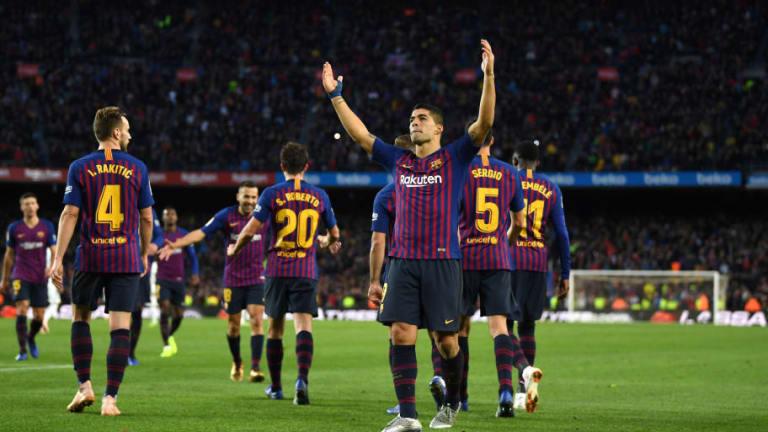 Los increíbles números de Luis Suárez jugando clásicos