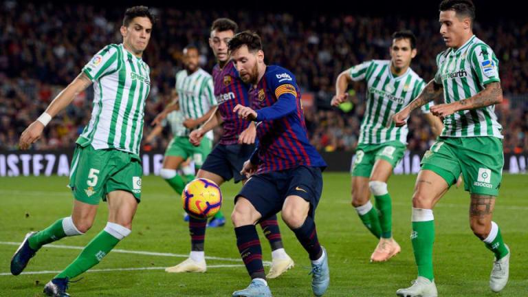 Betis - FC Barcelona | Alineaciones confirmadas
