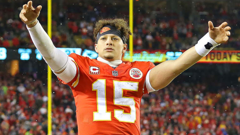 Patrick Mahomes Unfazed by the Magnitude of the Chiefs' Historic Playoff Victory