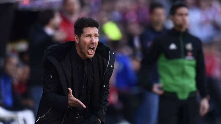Diego Simeone Admits Atletico Endured a'Tough' Afternoon Following Narrow Win Over Rayo