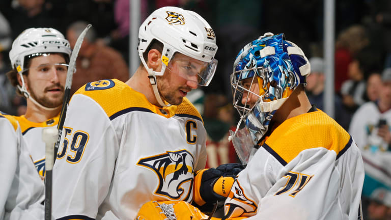 Saros' Shutout vs. Wild Clinches Predators' Playoff Spot