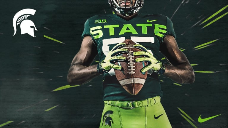 Michigan State's Abominable Neon Uniforms Are Worse Than We Feared