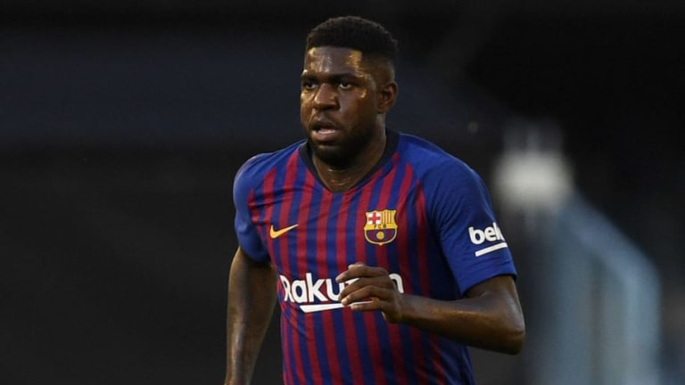 Barcelona 'Open' to Selling Samuel Umtiti With Juventus & Man Utd Keen on €50m Deal