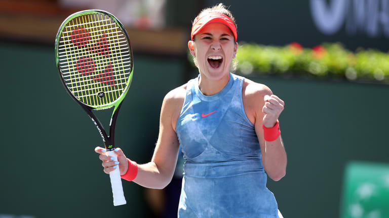 Belinda Bencic Wins Again to Set Up Semifinal Match With Angelique Kerber at Indian Wells