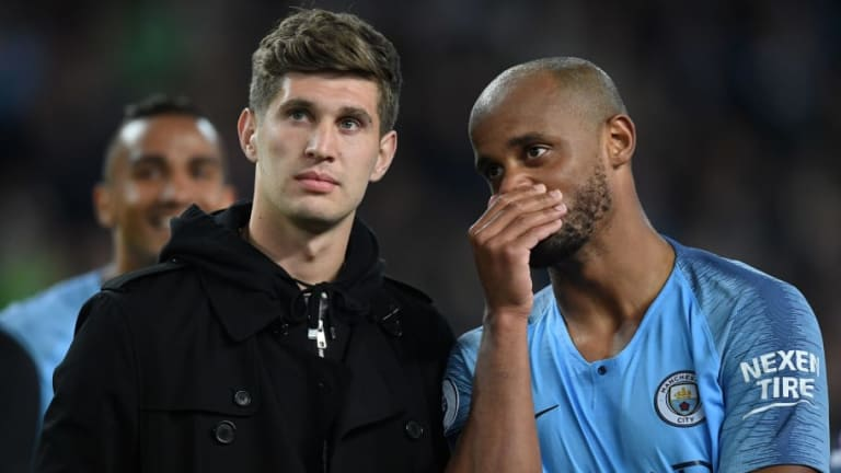 Vincent Kompany Names John Stones as the Best Centre-Back He's Ever Played With