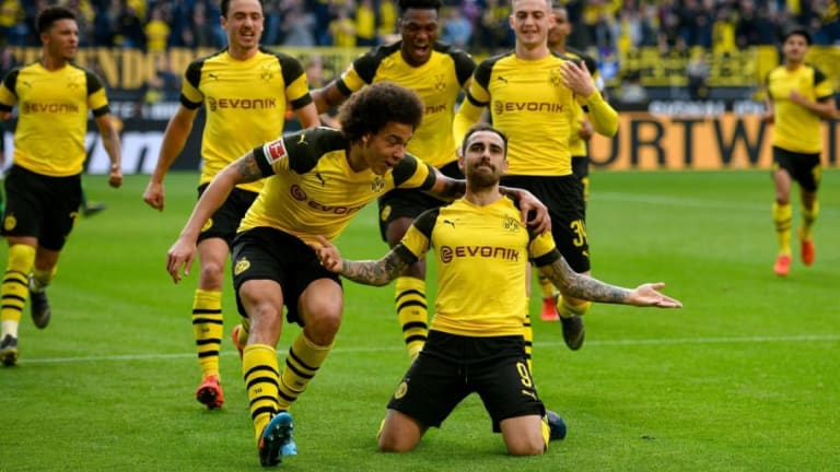Dortmund 2-0 Wolfsburg: Report, Ratings & Reaction as Paco Alcacer Nets Last-Gasp Brace