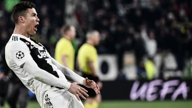 Diego Simeone Brushes Off Cristiano Ronaldo's Copycat Celebration Following Crushing Juventus Defeat