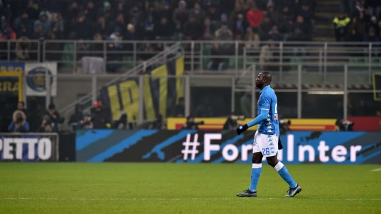 Napoli Confirm Pitch Walk-Out on Future Racist Chants Despite Italian Government's Stance
