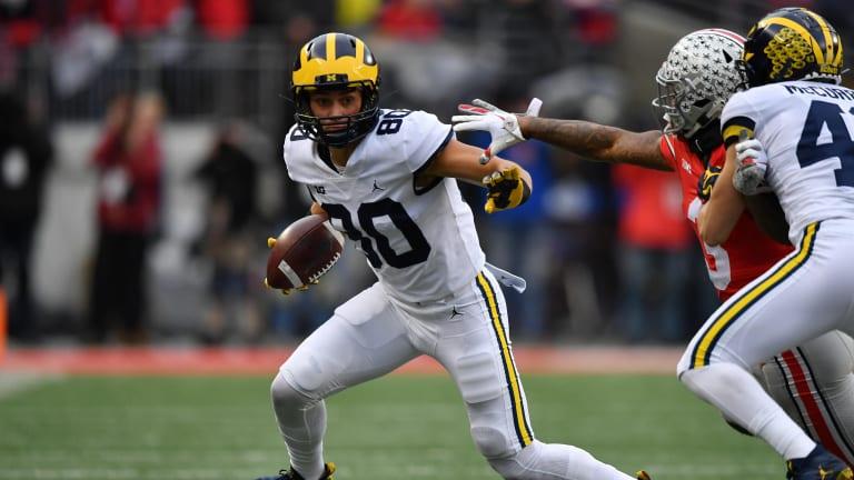 Former Michigan WR Oliver Martin Transfers to Iowa