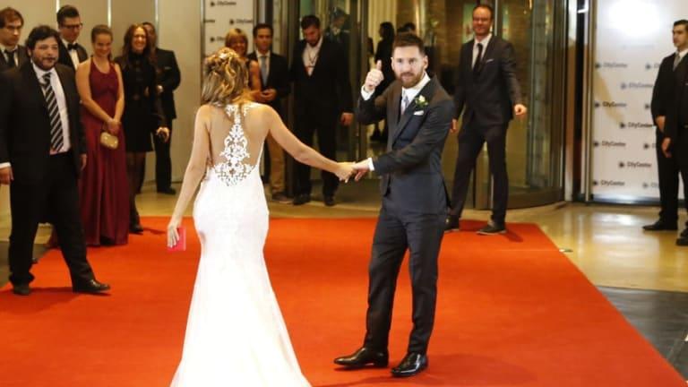 La familia Messi se vistió de gala y fue furor en las redes sociales