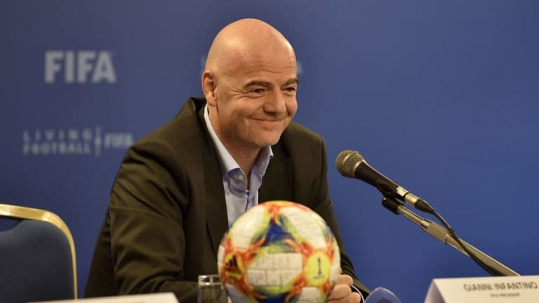 FIFA President Giovanni Infantino Aims to Expand Club World Cup to 24 Teams from 2021
