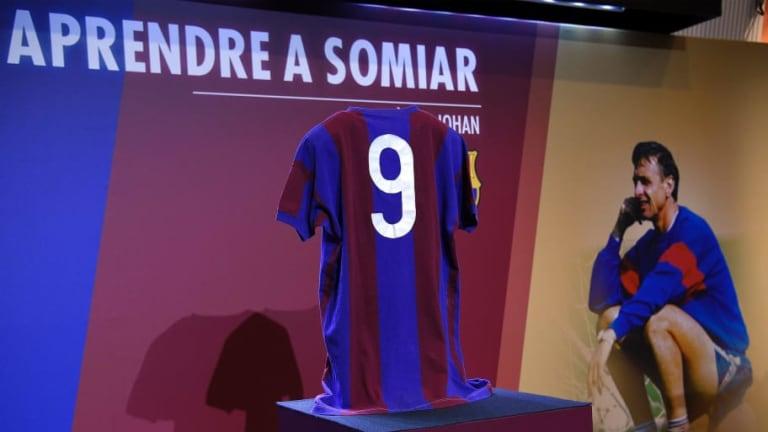 La estatua del Johan Cruyff en el Camp Nou se inaugurará un día antes que el  estadio con su nombre